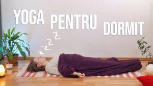 Yoga pentru un somn mai bun